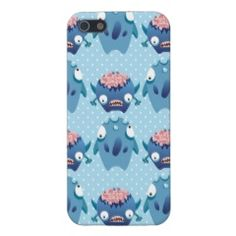 Fun Colorful Monsters Creatures Kids iPhone Cases iPhone 5 Cover