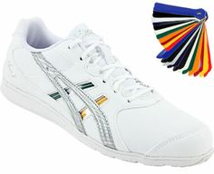 Have you seen them yet? Brand new for 2014, the Asics Cheer 7 Cheerleading Shoes