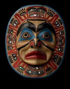 Kwakiutl Moon Mask by ~Nominal-Hominid on deviantART