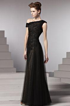 エレガントブラック☆ 神秘的な高級ロングドレス♪ - ロングドレス・パーティードレスはGN|演奏会や結婚式に大活躍!