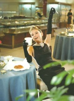 Audrey Hepburn in a publicity shot for Breakfast at Tiffany's. Read all about that classic here: http://www.classichollywoodcentral.com/breakfast-at-tiffanys-1961-2/