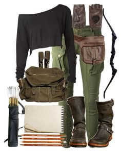 The maze runner Zombie Apocalypse Outfit, Apocalypse Fashion, Apocalypse Survival, Disney Outfits, Girl Outfits, Casual Outfits, Fashion Outfits, Disney Clothes, Runners Outfit