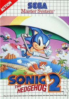Saga Master System: Sonic the Hedgehog 2 - I think is still have this somewhere!