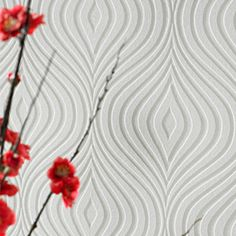 Curvy is a timeless classic- a flowing curve wallpaper that is much more than just a richly textured design. It's also intended to help cover up those unsightly lumps and bumps on the wall surface, providing the smooth, clean finish very decorator wants. This product is also fully paintable- the graceful curves will look just as good in your favourite colour.  The additional image for this product was supplied by our friends at Iconic Lights and features the Industrial Jean-Louis Domecq…