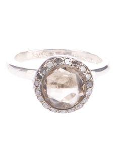 ROSA MARIA - topaz and diamond ring 4