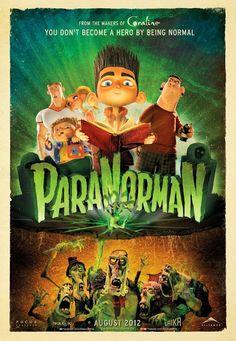 El alucinante mundo de Norman - ParaNorman (2012)   Batiburrillo de tópicos del cine de terror...