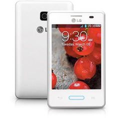 LG Optimus L3 Single Branco Desbloqueado Claro, 3G, Android 2.3, Câmera 3.2MP, Memória 2GB, Wi-Fi