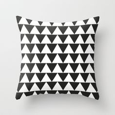 Triangle.+Throw+Pillow+by+Jake++Williams+-+$20.00