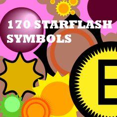 Illustrator symbols starflash