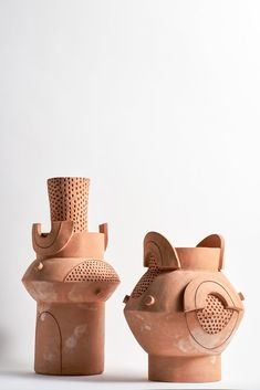 XL Circle Vase in Terracotta Pottery Sculpture, Pottery Vase, Ceramic Pottery, Terracotta Vase, Ceramic Vase, Modern Ceramics, Contemporary Ceramics, Wabi Sabi, Terracota