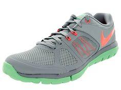 8b7b9fca4602 Nike Womens Flex 2014 Rn Lt Mgnt GryBrght MngGrn Glw Running Shoe 10 Women  US