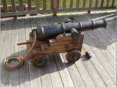 How to make a pirate cannon