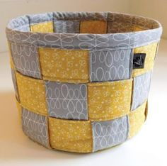 A Lovely Woven Basket Sewing Pattern for quilting by Beth Studley