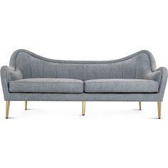 Milano Sofa: Gray Sky