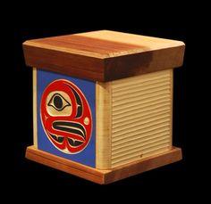 'Eagle Shore' Bentwood Box - Artworks