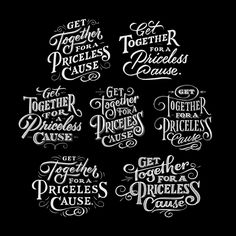For a Good Cause — Friends of Type