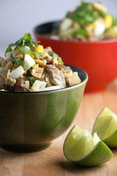 Burmese Noodle Bowl