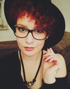 #herbst #hut #redhair #curls