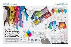 psychology color infographic - Cerca con Google