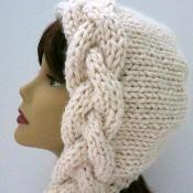 Snow Goddess Khione Bonnet - via @Craftsy