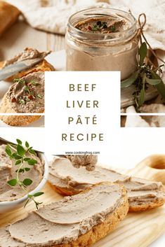 beef dishes This beef liver pate recipe is so delicious, thanks to an unexpected spice that magically does away a bit stronger liver taste. Even beef liver, which has a milder taste, will Paleo Ground Beef, Ground Beef Dishes, Ground Beef Recipes, Pate Recipes, Liver Recipes, Meat Appetizers, Appetizer Recipes, Liver Pate Recipe Beef, Chicken Pate Recipe