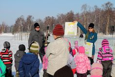 Fun in Nallikari Winter Village