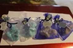 jabonetes em forma de bebes em muitos aromas ecomenda de um baptizado