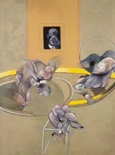 Francis Bacon, Three Figures and Portrait, 1975.