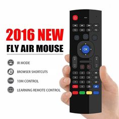 MEASY 2.4GHz Wireless Air Mouse Remote keyboard For Android Smart TV BOX Mini PC…