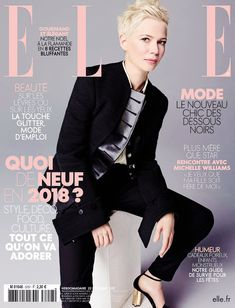 Michelle Williams on the Cover of 'ELLE' France