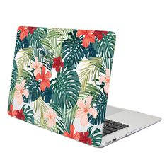 Hard Case Print Glossy (Floral Pattern) for Apple MacBook Air 13 inch