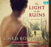 The Light in the Ruins [audio] - by Chris Bohjalian; read by Cassandra Campbell and Mark Bramhall. October 2015 selection for Thursday night book group at Fayette County Public Library, Fayetteville, Georgia, USA. I'll be doubling up on reading & listening to this one in order to finish it by meeting time.