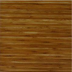 Wood Bamboo Vinyl Floor Tiles 20 Pcs Self-Adhesive Flooring - Actual 12'' x 12'' #PowerSellerUSA