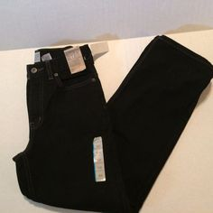 Boys Black Jeans Canyon River Blues NEW NWT sz 12S 12 Slim Adj waist relaxed #CanyonRiverBlues #Relaxed