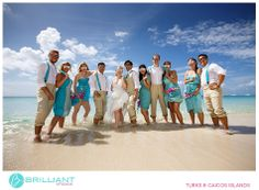 Megan and Jon's fun wedding at Beaches Resort in Turks and Caicos with Brilliant Studios