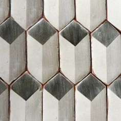 Old style hexagonal tiles in gorgeous hues that lend a modern yet ...