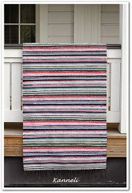 Recycled Fabric, Woven Rug, Scandinavian Style, Pattern Design, Outdoor Blanket, Weaving, Textiles, Rag Rugs, Home Decor