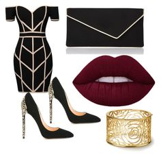 """""""Soirée"""" by chanelikoli on Polyvore featuring Command, Cerasella Milano and L.K.Bennett"""