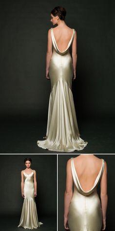 wedding dress trends – wedding dresses with beautiful backs from fall 2014 bridal market | via junebugweddings.com (2)