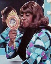 Geraldine~Flip Wilson ;)....... Mama would laugh and laugh. I didn't get it that Geraldine was a hooker!!