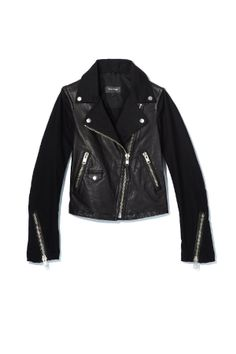The perfect spring weight biker jacket from Mackage.