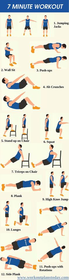 Quick 7 minute workout to help you stat fit