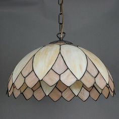Hanglamp Tiffany Lelie Parelmoer