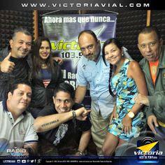 Hoy todo el equipo de #Victoria1039FM está feliz esperando el estreno de Abajo El Telón FM de nuestros amigos Giovanni Spinelli @giovaspin y José De Sanctis @josedesanctis. Hoy a las 8:00 pm por la señal de #TuRadioVialInformativa.