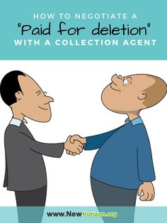 """How to Negotiate a """"Paid for Deletion"""" With a Collection Agent"""