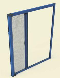 SIDNEY -zanzariera laterale a molla consigliata per finestre a porta ad 1 o due ante.