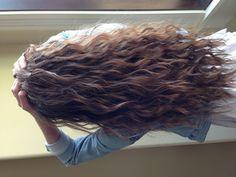 Thick hair curls