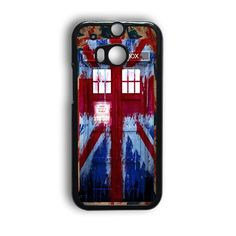 Tardis Doctor Who And Union Jack HTC One M9 Case