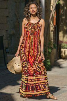 0a2ea06dd91 Gypsy Caravan Dress. Soft Surroundings