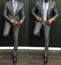 Discover the top 30 best charcoal grey suit with black shoes styles for men. Explore unique men's fashion ideas and inspiration for creating a dapper look. Sharp Dressed Man, Well Dressed Men, Style Gentleman, Terno Slim, Men's Suits, Men Formal, Formal Wear, Mens Fashion Suits, Men's Fashion